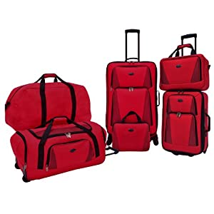 Travelers Choice U.S. Traveler Bradford 5-Piece Luggage Set