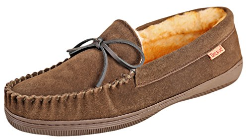 Tamarac by Slippers International 7161 Men's Camper Moccasin,13 D(M) US,Moss