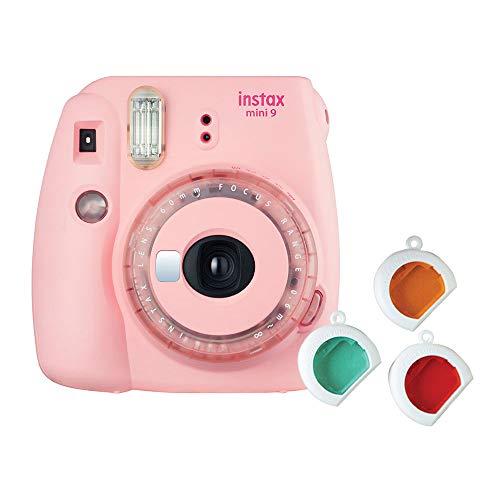 Fujifilm-Instax-Mini-9-Instant-Camera-Clear-Pink