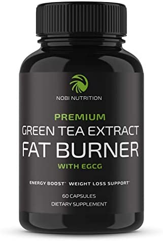 Nobi Nutrition Green Tea Fat Burner - Green Tea Extract Supplement with EGCG - Diet Pills, Appetite Suppressant, Metabolism & Thermogenesis Booster - Healthy Weight Loss for Women & Men 3