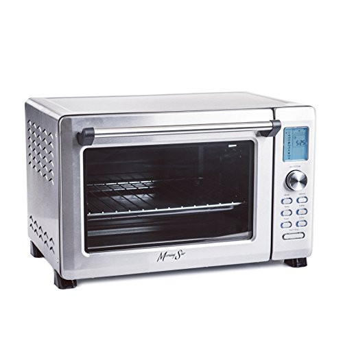 Morning Star - Extra Large - Infrared (No Preheat Needed) + Convection Countertop Digital Toaster Oven, Stainless Steel, XL 21'x13'x13.5' exterior, 12-slice