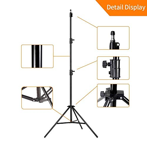 41MsY8lyQmL AWAKSHI 71 inch Big Tripod Stand for Phone and Camera Adjustable Aluminium Alloy Big Tripod Stand Holder,Photo/Video Shoot,TIK Tok/YouTube Videos with Mobile Clip Holder Bracket