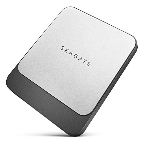 Seagate Fast SSD 1TB External Solid State Drive Portable – USB-C USB 3.0 for PC Laptop and Mac, 2 Months Adobe CC Photography (STCM1000400)