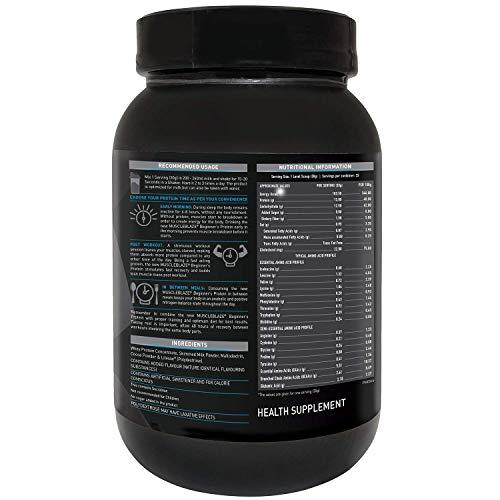 MuscleBlaze Beginner Whey Protein Supplement