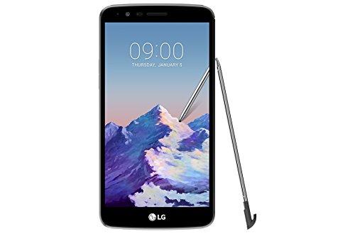 "LG Stylus 3 Dual SIM - M400DF - Fingerprint 5.7"" 13MP 16GB LTE Factory Unlocked Smartphone - International Version (Titan)"