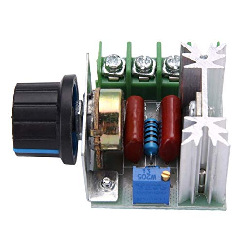 41N TLk9bVL AS RETAILS AC 220V 2000W SCR Voltage Regulator Dimming Dimmers Speed Controller Thermostat