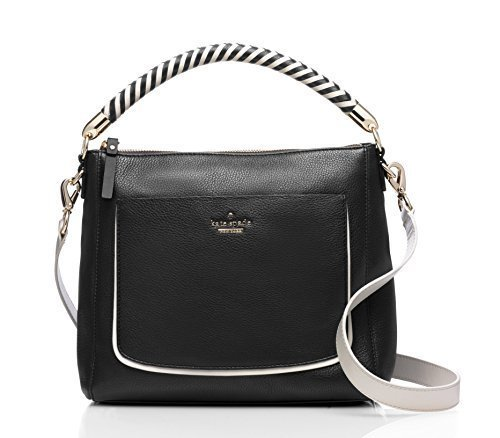 41N VCnQlNL Soft pebbled cowhide with smooth leather trim, dust bag included Satchel with adjustable crossbody strap and zip top closure Interior zip and double slide pockets