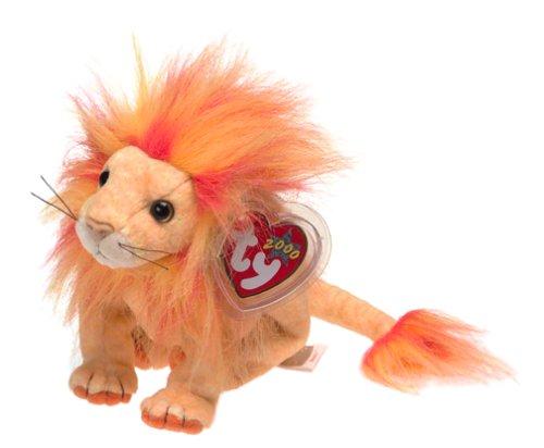Ty Beanie Babies - Bushy the Lion