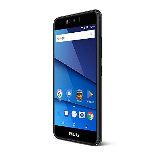 BLU R2-Black Factory Unlocked Phone - 5.2Inch Screen - 8GB - Black (U.S Warranty)