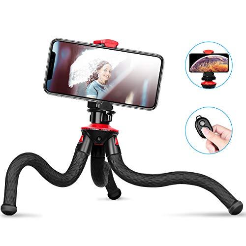 Goofoto Flexible Phone Tripod, Waterproof Travel Tripod for iPhone with...
