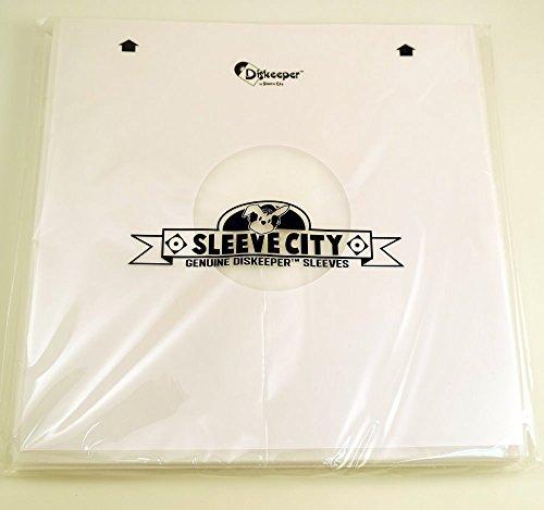 Diskeeper Ultimate Audiophile Inner Record Sleeves (50 Pack)