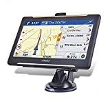 Trucking GPS Navigation 7inch Truck GPS Big Touchscreen 8GB ROM SAT NAV System Navigator Driving Alarm Lifetime Map Updates Truck GPS Navigation System for Trucks