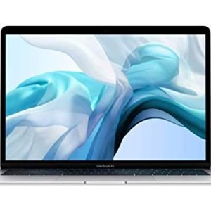 Apple MacBook Air (13-inch, 8GB RAM, 256GB Storage, 1.6GHz Intel Core i5) - Silver (Previous Model) 13