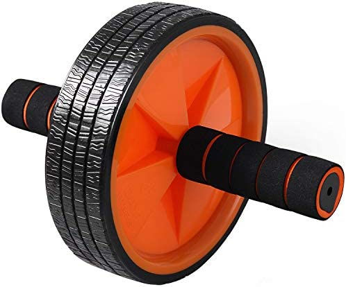 Ab Wheel Roller by Day 1 Fitness for Core Training, with Extra Traction and Easy Glide - Premium, Durable Exercise Wheel with Non-Slip Grip for Men and Women - Abdominal Workout Equipment for Obliques 3