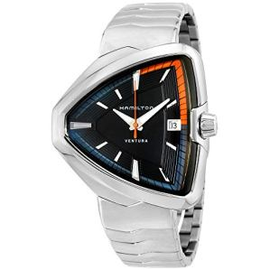 Hamilton Ventura Elvis80 Black Dial Stainless Steel Unisex Watch H24551131