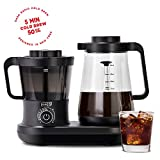 Dash DCBCM550BK Cold Brew Coffee Maker With Easy Pour Spout, 42 oz 1.5 L Carafe Pitcher, Black