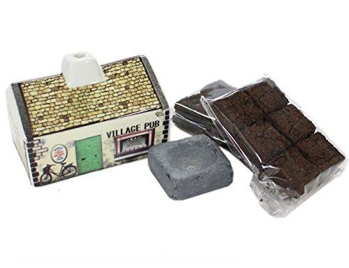 Irish-Pub-Turf-Peat-Incense-Burner-Set