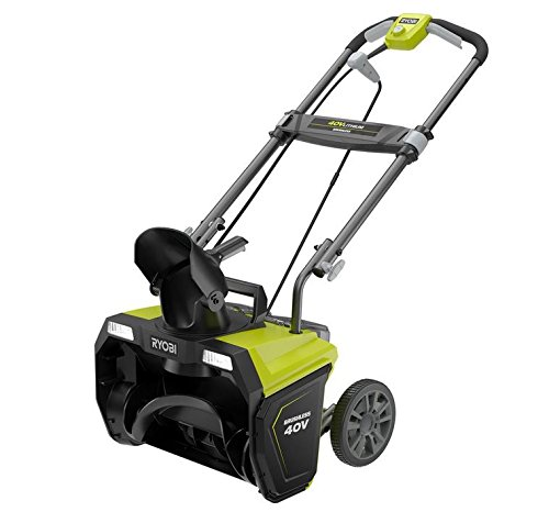 Ryobi 20 in. 40-Volt Brushless Cordless Electric Snow Blower - Battery and Charger Not Included
