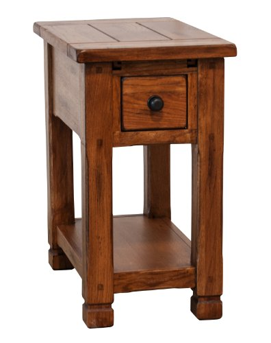 Sunny Designs Sedona 1 Drawer Chair Side Table