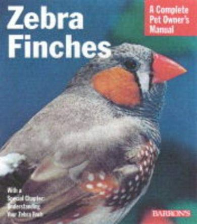 Zebra-Finches-Complete-Pet-Owners-Manuals-Paperback--May-1-2000