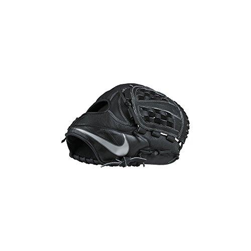 Nike MVP Edge Basket Baseball Fielding Glove Black/White Size 11.5 inch Left Hand