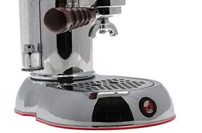 La-Pavoni-ESPCO-16-Esperto-Competente-Espresso-Machine-ChromeBrass-16-Cups-Capacity-Larger-38-Ounce-Boilers-with-Mounted-Pressure-Gauge