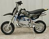 49cc 50cc Black 2-Stroke Gas Motorized Mini Dirt Pit Bike
