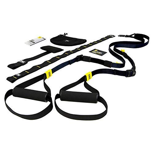 Suspension Trainer System: Lightweight & Portable| Full Body Workouts, All Levels