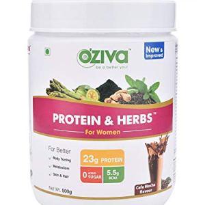 OZiva Protein & Herbs for Women 22  OZiva Protein & Herbs for Women 41NieuBlqQL