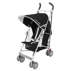 Maclaren Globetrotter Stroller, Black/White