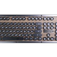 Azio Retro Classic Bluetooth (Elwood) - Luxury Vintage Backlit Mechanical Keyboard