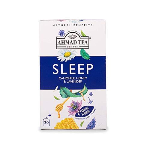 Ahmad Tea 's Natural Benefits, Sleep 20 Count (Pack of 6)