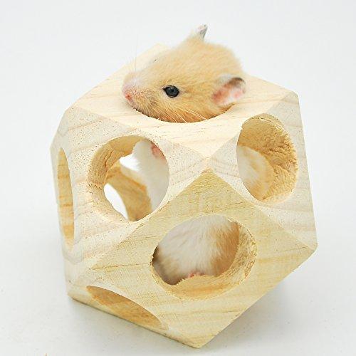 Niteangel Wooden Interactive Toy Ball