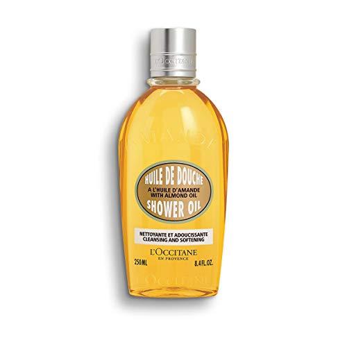 L'Occitane Cleansing & Softening Almond Shower Oil, 8.4 Fl Oz