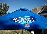 Bud Light NFL Football 9 Foot Beer Patio Umbrella Market Style New