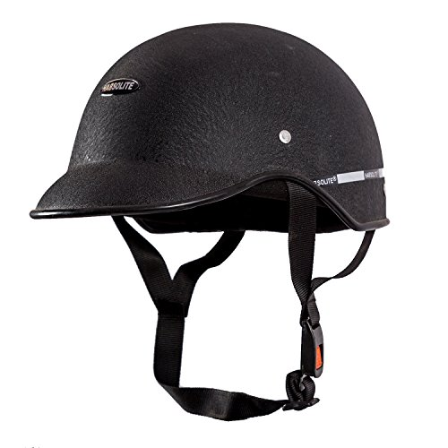 Habsolite All Purpose Safety Helmet with Strap (Black, Free Size) 1  Habsolite All Purpose Safety Helmet with Strap (Black, Free Size) 41NzK6PCO3L