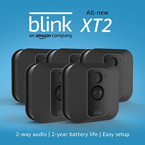 Blink-XT2-OutdoorIndoor-Smart-Security-Camera-with-cloud-storage-included-2-way-audio-2-year-battery-life--5-camera-kit