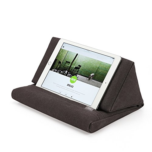 Ipevo PadPillow Stand for iPad Air & iPad 4/3/2/1Nexus/Galaxy - Charcoal Gray (MEPX-07IP)