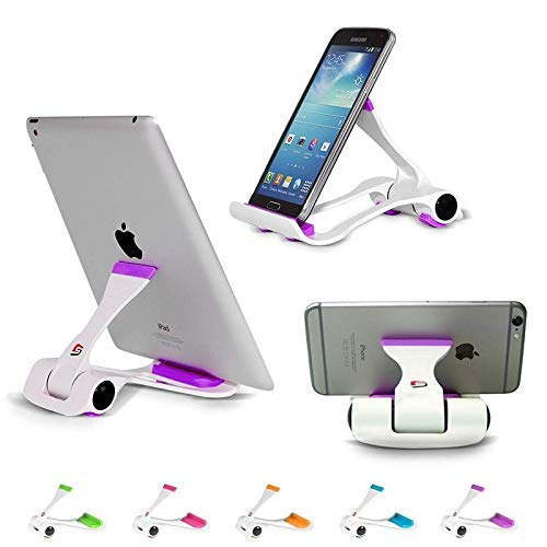 "BRUSSEL: (Multi Color) Tablet and Mobile Phone Stand,Holder,Mount Fit to Any Devices from 4""-12"" 8"