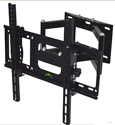 """AlexVyan Imported TV LCD LED Wall Mount Stand 32 to 55"""" (32 40 42 46 52 55 inch) 180 Degree Rotatable Plasma Bracket for TV of LG Samsung Micromax Lloyd Panasonic Phillips Hier Videocon (Dual Arm) 146"""