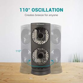 Dr-Prepare-Tower-Fan-Oscillating-Fan-Portable-Desk-Fan-with-3-Speed-Options-Dual-Air-Circulation-110-Oscillation-3-Timers-Personal-Quiet-Table-Fan-for-Home-Office-Desktop-Bedroom