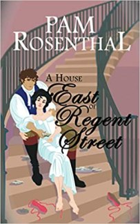 A House East of Regent Street by Pam Rosental book cover