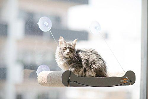 "K&H Pet Products EZ Mount Scratcher Kitty Sill Tan 11"" x 20"" x 2"""