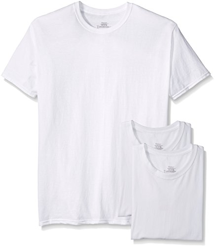 Hanes 3-Pack Tagless Crew Neck T-Shirt
