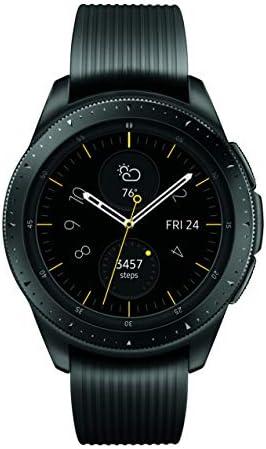 Samsung Galaxy Watch smartwatch (42mm, GPS, Bluetooth, Wifi) – Midnight Black (US Version with Warranty)