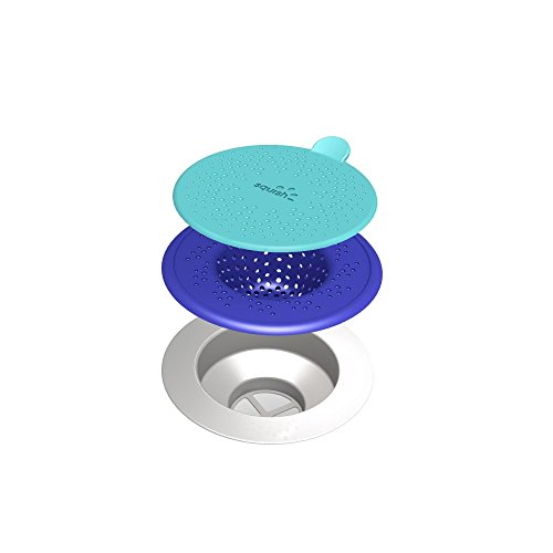 ROBINSON HOME PRODUCTS Blue Squish Sink Strainer, Blue (41035)