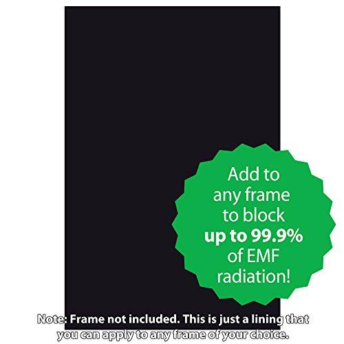 "SYB Poster Frame Liner, EMF Radiation Protection Shield (24""x36"")"