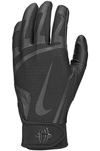 Nike Youth Huarache Edge Batting Gloves Black Size Large