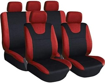 Red and Black Sport Car Seat Cover Protectors