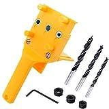 Wolfride Handheld Dowel Jig Kit Doweling Jig Drill Guide for Wood 6mm 8mm 10mm